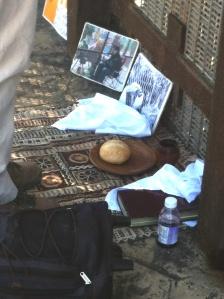 Prayer and communion.