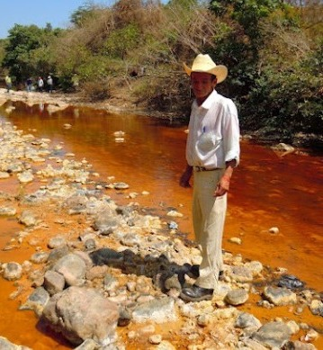River polluted by mercury and arsenic in El Salvador